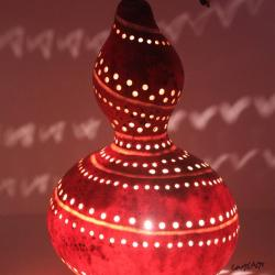 My First Gourd Art: A Decorative Lamp